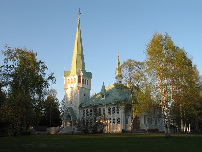 Jokkmokks nya kyrka